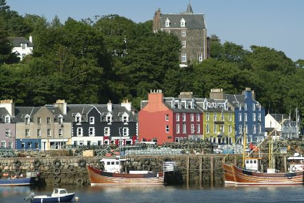 Tobermory on the Isle of Mull, Scotland.