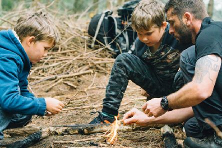 The investment will include new accommodation, park facilities and childrens activity-based entertainment such as the Bear Grylls Survival Academy. Picture: Contributed
