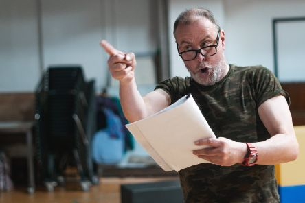 Barrie Hunter will play Jim McLean in Simile at Dundee Rep. PIC: Sean Millar