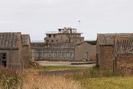 Wartime buildings stand in a dilapidated state at Crail airfield. Picture: cc-by-sa/2.0 Copyright Jim Bain/Geograph.org.uk