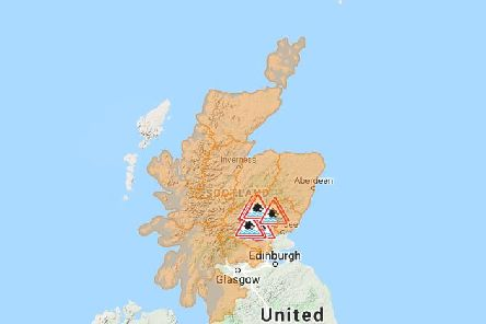 Storm Dennis saw Scotland hit with wet and windy weather recently, with numerous flood warnings currently in place (SEPA)