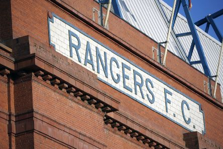 Rangers had applied to open a fan zone opposite the main stand at Ibrox