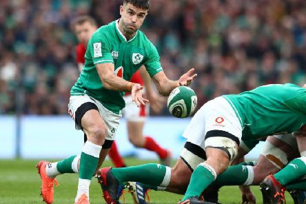 Ireland are in a strong position going in to their game against England. Picture:Michael Steele/Getty Images
