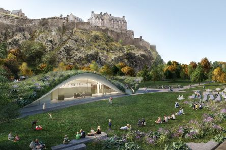 The Quaich Project plan to replace the Ross Bandstand has proved contentious