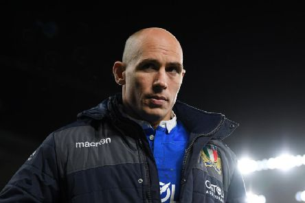 Sergio Parisse won't face Scotland on Saturday. Picture: Getty Images