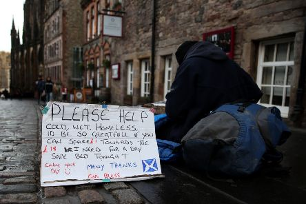 Homelessness is always a symptom of other challenges people have faced in their lives