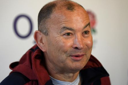 England coach Eddie Jones made a 'crass' remark. Picture: Getty Images