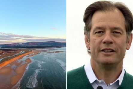 Todd Warnock's Coul Links golf course project has been rejected by Scottish Government   picture: supplied