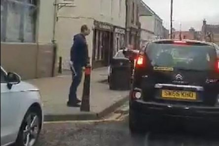 The incident happened in Tranent, East Lothian. Picture: Twitter