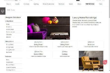 Houseology had raised more than 6 million in investment since it started in 2010. Company website pictured.