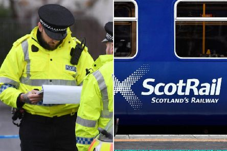 """Kieran Denvir made """"frequent"""" references to the terrorist group in front of alarmed passengers, including women and children, on an evening Scotrail train between Glasgow Queen Street and Falkirk before Christmas picture: JPI Media"""