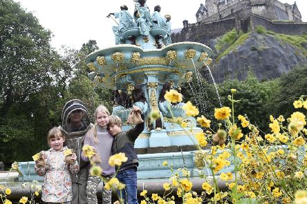 West Princes Street Gardens is public-good land, owned by the people and held by the council in our name (Picture: Lisa Ferguson)