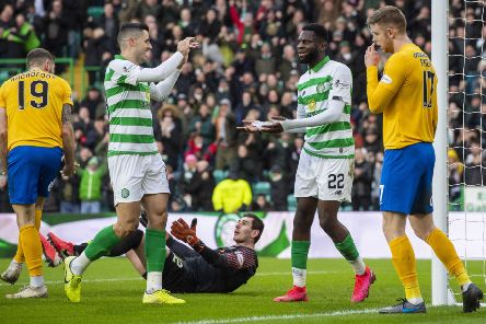 Tom Rogic impressed in Celtic's weekend win over Kilmarnock and is now in the frame to face Copenhagen. Picture: Craig Williamson/SNS
