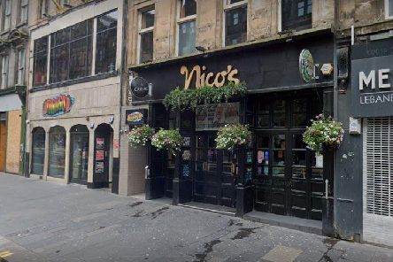 """Francis Smith, 32, returned to Nico's in Sauchiehall Street, Glasgow, after an earlier incident at 6.36pm on December 21 2019 when he was allegedly assaulted and shouted """"I'm going to get a gun and shoot you"""" before walking off."""