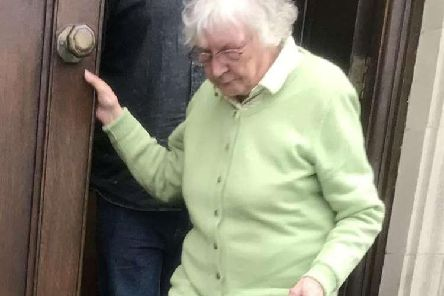 Neighbour from hell Catherine Searle, 81, threw dog poo into her neighbours' garden, scratched their car, and even encouraged her noisy parrot to disturb them in the garden with its singing.