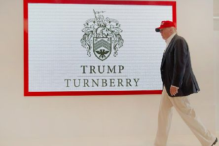 Donald Trump acquired the Turnberry resort in 2014 for 35m. Picture: John Devlin