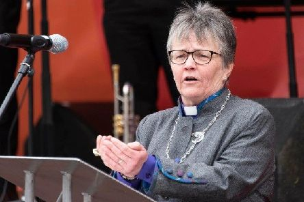 Rt Rev Susan Brown, Moderator of the General Assembly.