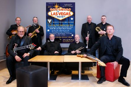 After three years of sell-out stage shows, Scotland's top 9-piece showband, Spatz & Co will be launching their 'One Night in Las Vegas' tour in Galashiels on March 16 in the Volunteer Hall.