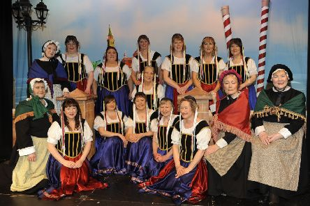 Melrose Amateur Opera Operatic Society'75th Anniversary Year, present 'The Gondoliers (photo: Rob Gray)