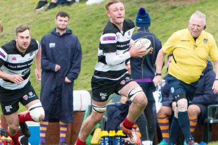 Cammy Brown was in try-scoring form for Kelso (archive image)