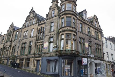 The old Liberal club in Hawick is one of the properties expected to benefit from a forthcoming conservation area regeneration scheme.