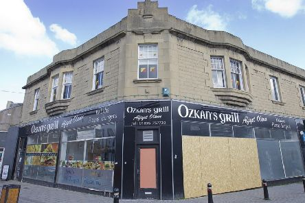 The old Ozkan's Grill in Galashiels.