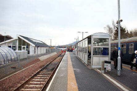 Tweenbank station.