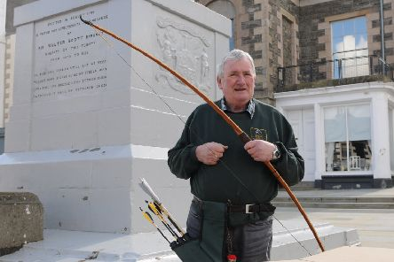 Dr Lindsay Neil was one of the founding members of the resurrected Ettrick Forest Archers.
