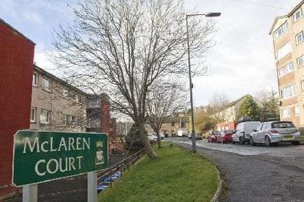 McLaren Court in Burnfoot, Hawick.