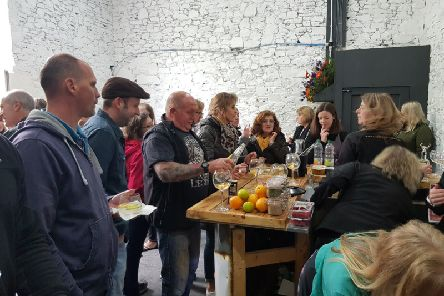 The gins went down well at the opening of Selkirk Distillery on Saturday.