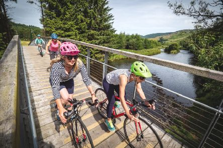 Easyriders cycle courses for women are being held throughout the Borders.