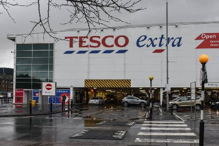 Tesco in Galashiels.