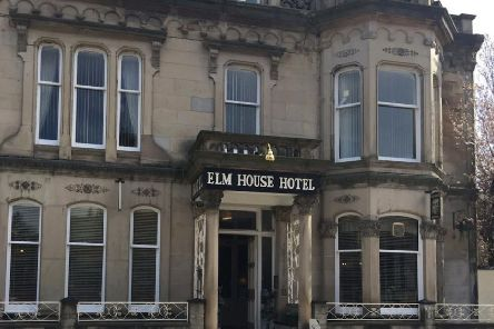 "29-year-old Paul Gresham said the hotel room in Hawick was trashed due to his ""falling all over the place"" after drinking to excess following the murder of his mother."