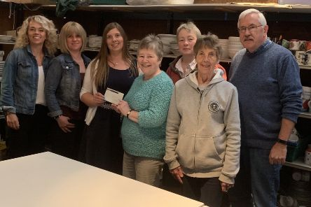 The team at Fatface in Kelso won a �2000 charity donation by achieving the best sales across the whole company over a specified weekend. They donated it to Fresh Start Borders.