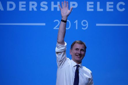 Tory leadership hopeful Jeremy Hunt. (Photo by Christopher Furlong/Getty Images)