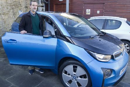 Teviot Electric Car Club project manager Andy Maybury.