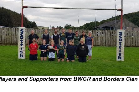 Players and Supporters from BWGR and Borders Clan.
