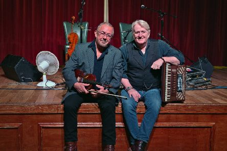 Aly Bain and Phil Cunningham head to Kelso next month.