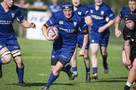 Hawick Linden 27-25 victory over Forrester (picture: Brian Sutherland)