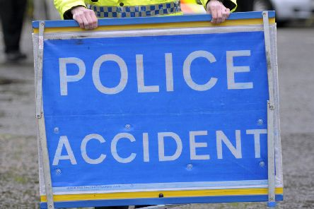 The accident happened last night near Glenmayne on the A7.