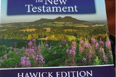 A US-printed copy of the Bible's New Testament billed as being a Hawick edition.