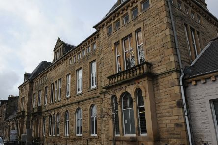 Johnston's of Elgin cashmere visitor centre in Hawick's Mansfield Road