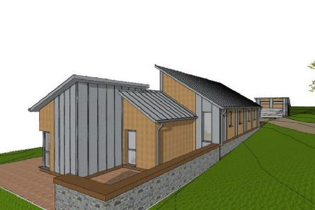 Proposals for a new house to be sited south east of Dundas Cottage, near Selkirk.