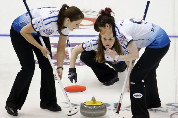 World Curling: Kerry Barr so close to biggest win
