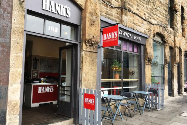 Popular Edinburgh sandwich shop Hank's could be yours for £45k
