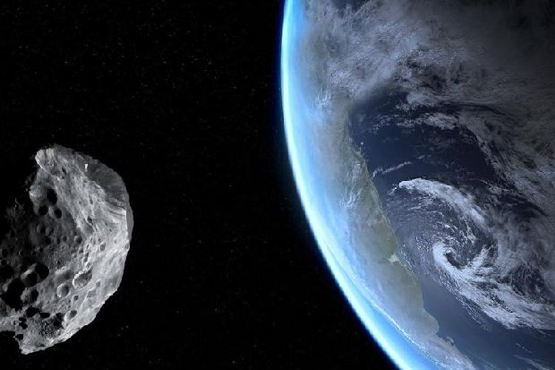 An asteroid the size of a Boeing 737 has a chance of hitting earth this year