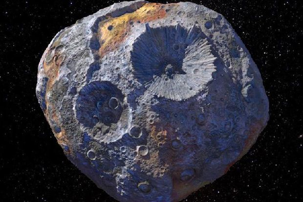 Nasa is headed for a giant asteroid that contains enough gold to make everyone on Earth a billionaire