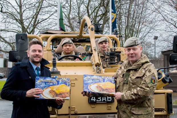 A tasty treat this Christmas for our troops thanks to ...