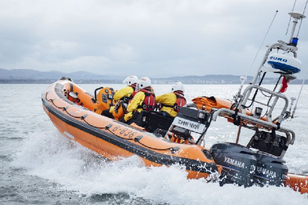 Kinghorn lifeboat crew hit by hoax call on busy Bank Holiday