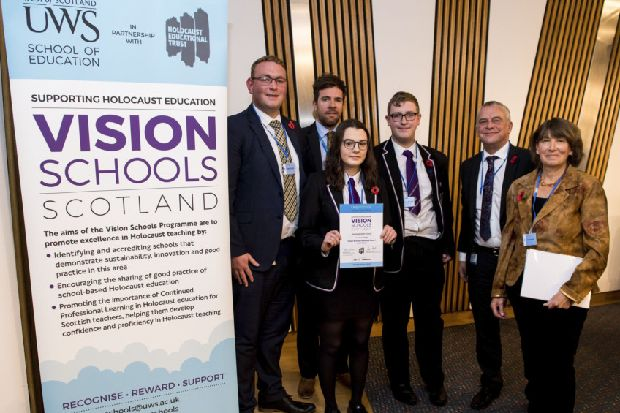Barrhead High School recognised for leading Holocaust education initiatives - Glasgow South and Eastwood Extra